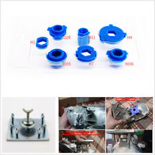 7*Headlight Retrofit Tool H1/H4/H7/H11/D2/HB3/HB4 Mounting Mould&1*Mouting Plate