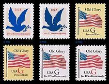 G Rate (32) Glory Flag 2877 2878 2879 2880 2881 2882 Sheet Singles 6 MNH Buy Now