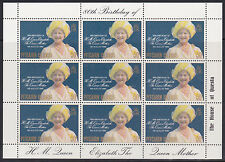 1980 Pitcairn Island The Queen Mother 80th Birthday - Muh Sheetlet