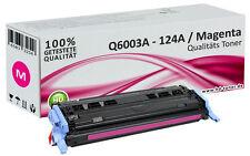 1x XL tóner para HP Color LaserJet 1600 124a 2600n 2605 DN dtn cm 1015 MFP 1017