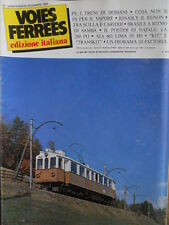 Voies Ferrees 24 1985 Ferrovia Renon - Traghetto Scilla e Cariddi -ALn 663 in H0