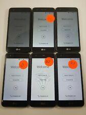 Lot of 6 - LG Fortune M153 Cricket Wireless *Check IMEI* Read Description