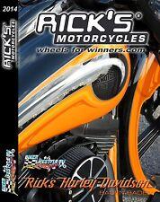 RICKS Harley-Davidson DVD Vue dans le monde des Personnalisation DVD RICKS