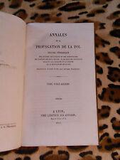 ANNALES DE LA PROPAGATION DE LA FOI - Tome 26 - 1854