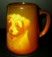 VERY RARE ROOKWOOD PORTRAIT DOG MUG E.T. HURLEY MOLD # 587 C CIRCA 1933