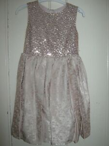 GIRLS SEQUIN PARTY/PROM DRESS PINK 7-8 YEARS OCCASION WEAR NEW BNWT GIFT PRESE