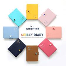2020-2021 Smiley Diary Planner Scheduler Journal Notebook Organizer Sticker Tray