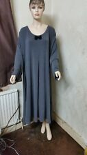 Plus Size 32-34 Jersey Long Maxi Lagenlook Dress fit Size 6XL