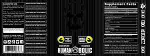 HUMANABOLIC by Chaotic Labz Night Time Muscle Builder SLEEP GROWTH GAINS
