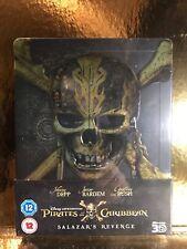 STEELBOOK Blu-ray Pirates Of The Caribbean 5  [ Zavvi Limited  ]