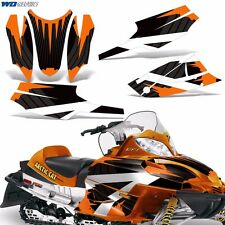 Arctic Cat FireCat Decal Graphic Kit F5,F6,F7 Sled Sabercat Snowmobile Wrap RB O