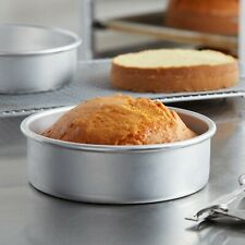 """Winco 12x3"""" round aluminum cake pan / deep dish pizza pan for all your bakery"""