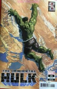 IMMORTAL HULK #15 MARVEL COMICS ALEX ROSS VARIANT COVER B 2019