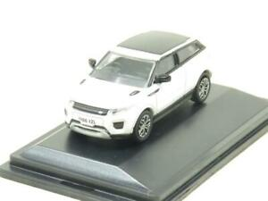 Oxford Diecast 76RRE002 Range Rover Evoque Coupe Facelift White 1 76 Scale Boxed