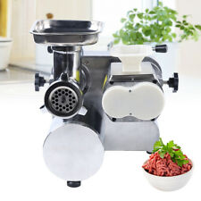 Commercial Electric Slicer Meat Grinder 3 In 1 Heavy Duty Powerful Food Grinder