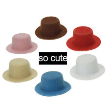 1/6 1/12 Miniature Gentleman Hat Dollhouse Accessories Pretend Play Toy Clever