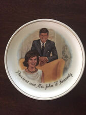 President and Mrs John F Kennedy - Collectors Plate - 7 1/4 ""