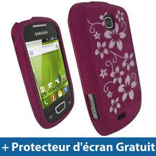 Étuis, housses et coques avec clip roses Samsung Galaxy S pour téléphone mobile et assistant personnel (PDA)
