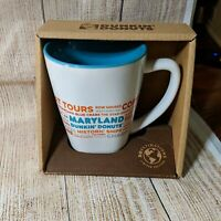 Dunkin Donuts Limited Edition Destinations Mug Maryland 2017 14 oz NEW IMPERFECT
