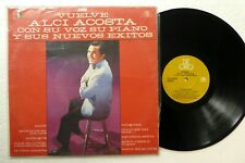 ALCI ACOSTA Vuelve LP Latin MINT- Colombia press  #2768