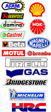 HRC cbr sticker decal set akrapovic bmc afam adesivi aufkleber