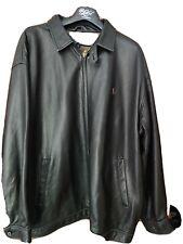 Ralph Lauren Harrington Leather Jacket Xxl