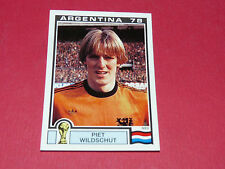117 WILDSCHUT HOLLAND ARGENTINA 78 FOOTBALL PANINI WORLD CUP STORY 1990 SONRIC'S