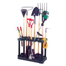 More details for garden tool rack trolley gardening equipment storage caddy garage organiser