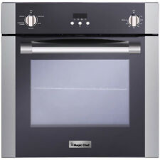 Magic Chef Mcswoe24s 22 Cubic Foot Built In Programmable Wall Convection Oven