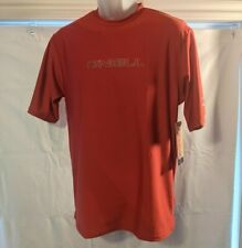 Youth, M, O'Neill, 50+ Upf Comfort Skin, Red Ss, Surf Shirt, Quick Dry, Slim Fit
