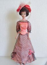 VINTAGE 1969 MATTEL TALKING TRULY SCRUMPTIOUS DOLL DRESS & HAT #1107 TLC NO DOLL