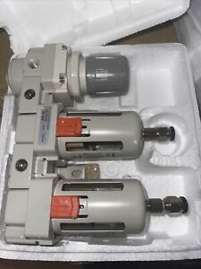 """NANPU DFR-03 3/8"""" NPT Air Drying System - Double Air Filters C6"""