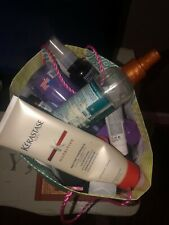 Assortment of products for hair, face, body mists etc. Top brand: Kérastase