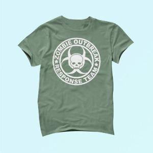 Apocalypse Zombie Outbreak Response Team T-shirt Cotton Unisex_1431