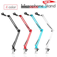 Desk Microphone Metal Suspension Boom Scissor Arm Stand Shock Mount  Y