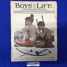 Boy Scout Boys' Life Magazine September 1922