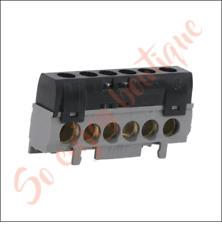 LEGRAND 04816 - Bornier noir de répartition IP2X phase - 6 connexions
