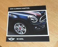 Mini 50 Clubman Hampton Brochure 2011 - Mini Cooper S