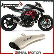 Exhaust Hp Corse Hydroform Satin Mv Agusta Brutale 800 2016 > 2019