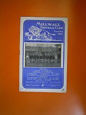 League Division Three - Milwall v Exeter City - 16th September 1957