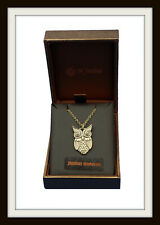 BRONZE OWL PENDANT NECKLACE ~  FROM ST JUSTIN ~ FREE & FAST P&P