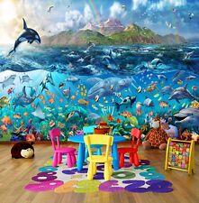 Wall Mural Photo Wallpaper Underwater Fishes Tropical Sea Ocean Life 335x236cm
