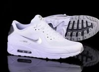 Nike Air Max 90 Ultra Men's Silver White Shoe Trainers UK Size 8