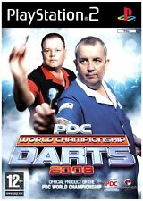 PDC World Championship Darts 2008 PS2 great condition with book