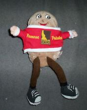 Vintage Spuddy Buddy Idaho Famous Potatoes Bean Baby stuffed doll 9 inch tall