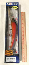 "Sebile Koolie Minnow Red Blue Parrot 7-3/4"" Floating 3oz Fishing Lure 190mm New"