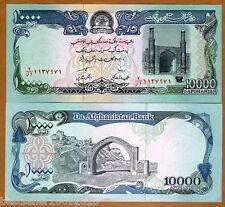 AFGHANISTAN 10000  AFGANI UNC # 676