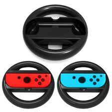 2 Pcs Joy-con Racing Steering Wheel Handle Controller Grip For Nintendo Switch
