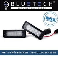 BLUETECH® LED SMD Kennzeichenbeleuchtung für VW GOLF 4 5 6 7 PASSAT