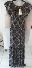 Woman's Black and White Dress from Style & Co. Size PM NWT